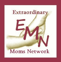 Extraordinary Mom Small Logo with Text