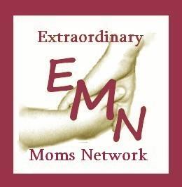 Extraordinary Mom Small Logo with Text