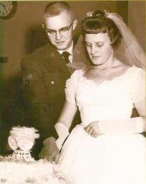 John and Sandy Hess, December 8, 1962