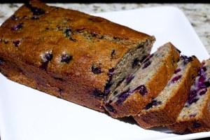 Blueberry Zuccini Bread