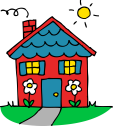 cute-house-clipart-cute_red_and_blue_house