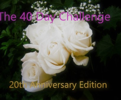 40 day challenge 20th